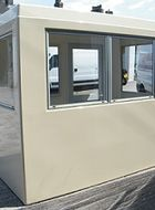 aluminium kiosk window