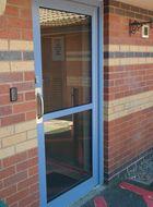 Anti ligature door