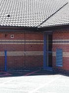 Security door for mental health applications