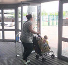 Automatic door barriers