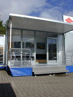 Windows & doors for exhibition units