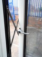 aluminium parallel window