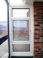 parallel aluminium window