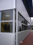 Aluminium window medium weight