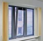 aluminium drop back window