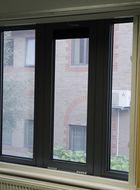 Aluminium security window
