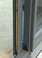 Visoglide door close up