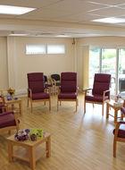 Western Hospice sitting room