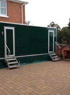 Mobile Toilet Facilities using the Capricorn lightweight aluminium door