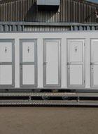 aluminium toilet door